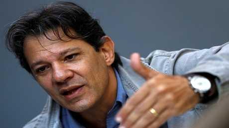 العمدة السابق لمدينة ساو باولو فرناندو حداد