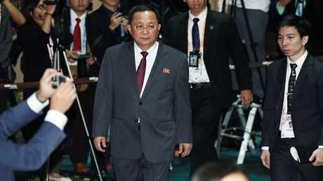 وزير خارجية كوريا الشمالية ري يانغ هوو