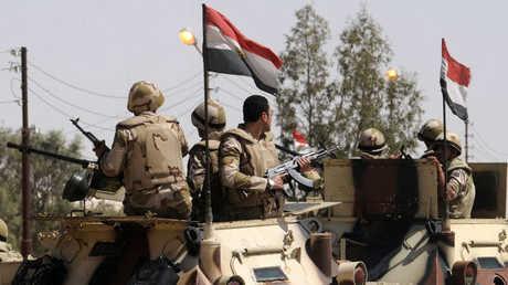 عناصر من قوات الأمن المصرية