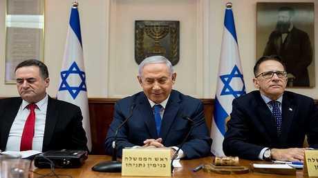 اجتماع أسبوعي للحكومة الإسرائيلية (أرشيف)