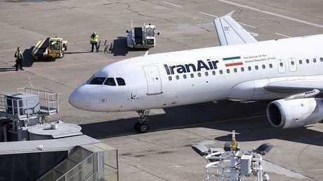 طائرة تابعة للخطوط الجوية الإيرانية- أرشيف