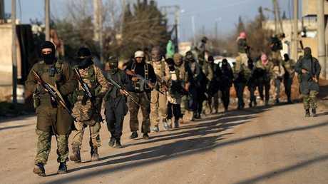 عناصر أحد الفصائل السورية المسلحة (أرشيف)