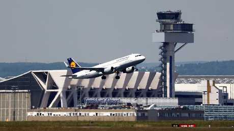 مطار فرانكفورت - أرشيف -