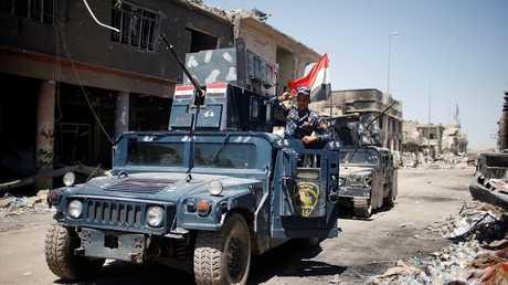 قوات عراقية في مدينة الموصل - أرشيف