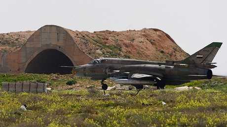 مطار الشعيرات العسكري السوري (أرشيف)