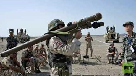 جندي من قوات الجيش المصري