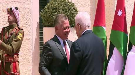 قمة أردنية فلسطينية في عمّان