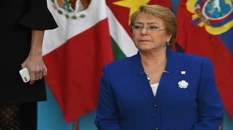 الرئيسة التشيلية السابقة ميشال باشليه