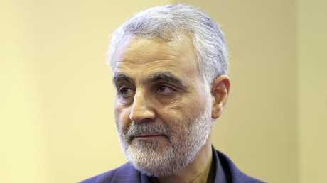 قاسم سليماني قائد فيلق القدس بالحرس الثوري الإيراني