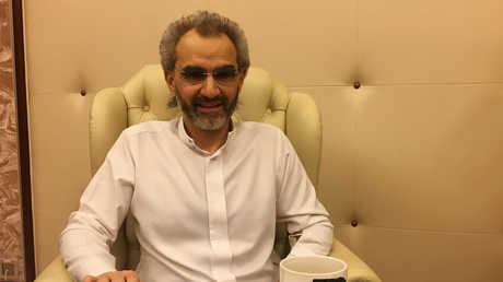 الأمير السعودي الملياردير الوليد بن طلال