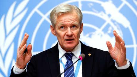 يان إيغيلاند، مساعد المبعوث الأممي الخاص إلى سوريا، ستيفان دي ميستورا