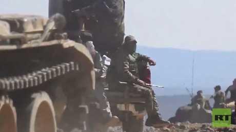 الجيش السوري يتقدم في مواجهة