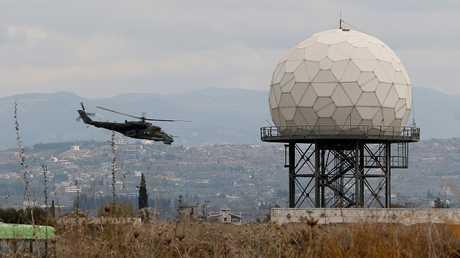قاعدة حميميم الروسية في سوريا (صورة من الأرشيف)