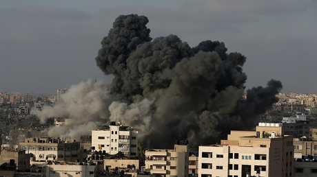 القصف الإسرائيلي على غزة