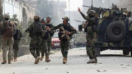 قوات الأمن الأفغانية - أرشيف -