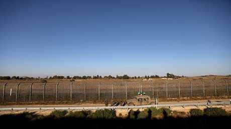 المنطقة المنزوعة السلاح على الحدود بين الجولان وسوريا