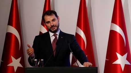 وزير الخزانة والمالية التركي براءت ألبيرق