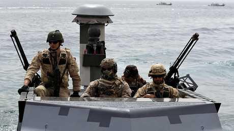 عناصر من القوات الأمريكية في باكستان