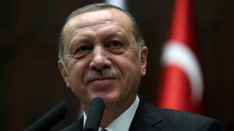 الرئسي التركي رجب طيب أردوغان