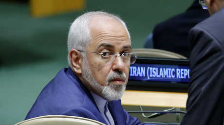 محمد جواد ظريف في مقر الأمم المتحدة بنيويورك