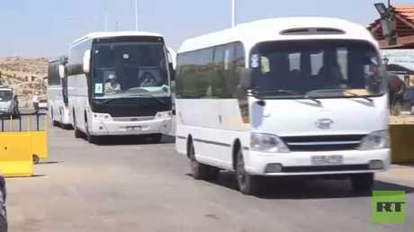 عودة 200 لاجئ سوري من لبنان إلى بلدهم