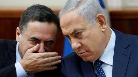 يسرائيل كاتس وبنيامين نتنياهو