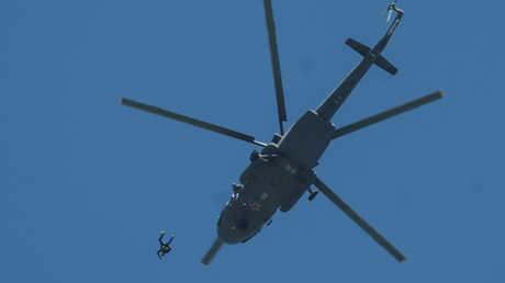 تدريبات قوات الإنزال الجوي الروسية - 04/06/17