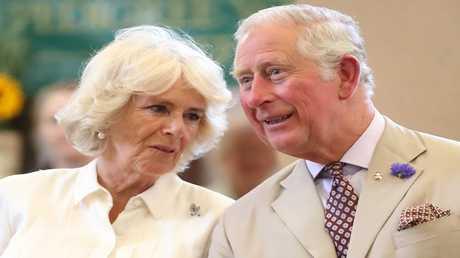 الأمير تشارلز والأميرة كاميلا
