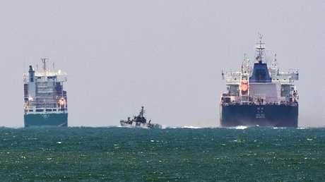 سفن إسرائيلية في البحر الأبيض المتوسط - أرشيف