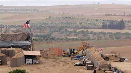 القاعدة الأمريكية في منبج بسوريا (صورة من الأرشيف)