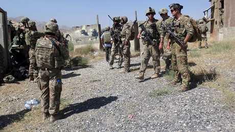 عناصر من القوات الأمريكية في أفغانستان