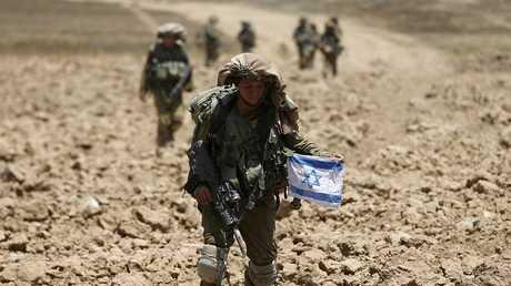 جنود إسرائيليون في محيط قطاع غزة - أرشيف