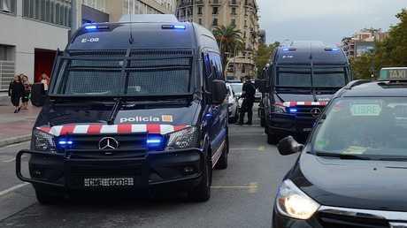 الشرطة الكاتالونية  (صورة أرشيفية)