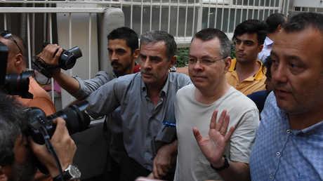 أندرو برانسون، القس الأمريكي المحتجز لدى تركيا