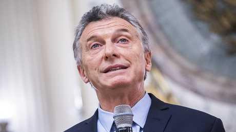 رئيس الأرجنتين ماوريسيو ماكري