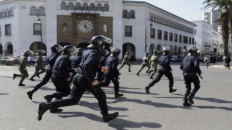 عناصر الأمن المغربي