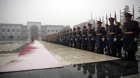 صورة ارشيفية للقصر الرئاسي كابل  عاصمة أفغانستان
