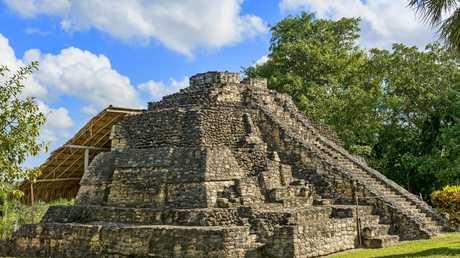 بقايا حضارة المايا