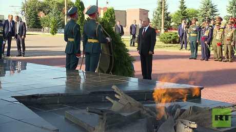 بوتين يشارك في مراسم إحياء الذكرى الـ75 للنصر في معركة كورسك