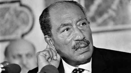 الزعيم المصري الراحل أنور السادات