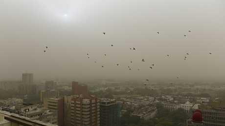 تلوث الهواء الجوي يخفض متوسط عمر الإنسان