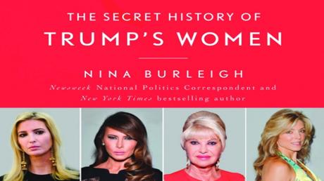غلاف كتاب الأصفاد الذهبية: التاريخ السري لنساء ترامب