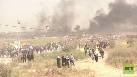 تجدد مسيرات العودة في قطاع غزة