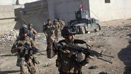 عناصر قوات الأمن العراقية