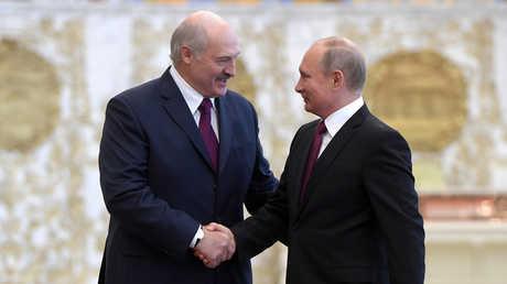 فلاديمير بوتين وألكسندر لوكاشينكو