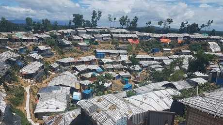 مخيم للاجئي الروهينغا، بنغلاديش