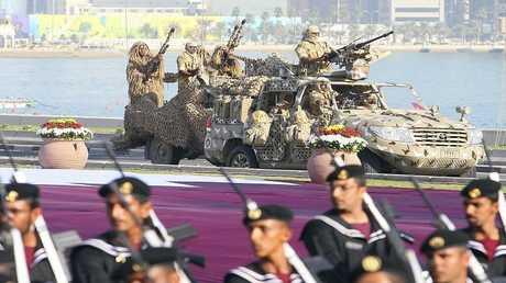 أرشيف - احتفالات بمناسبة اليوم الوطني لدولة قطر في الدوحة في 18 ديسمبر 2010