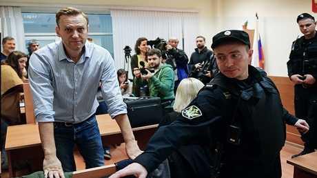 السياسي المعارضة الروسي أليكسي نافالني