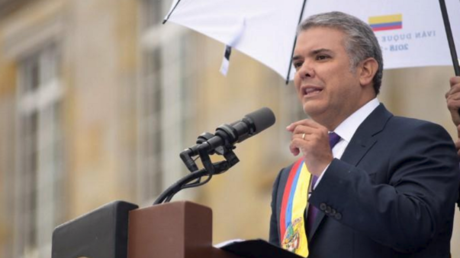 رئيس كولومبيا إيفان دوكي