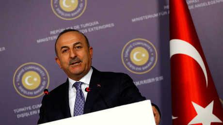 وزير الخارجية التركي، مولود جاويش أوغلو